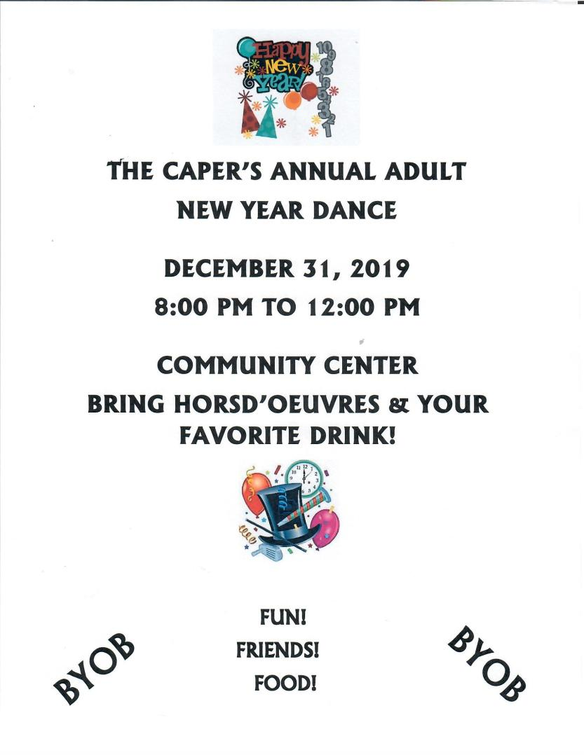 Capers New Year Party